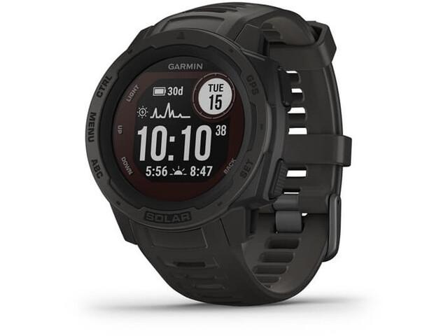Garmin Instinct Solar GPS Smartwatch, slate grey